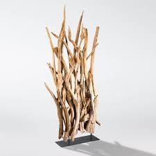 Wohnzimmer Lampe Aus Holz Raumteiler Stehlampe Stehleuchte Lampe Holz Massiv