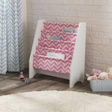 Sling Bookcase White by Sling Bookshelf Pink U0026 White