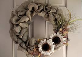 burlap wreaths burlap wreaths flowers creative christmas decoration with