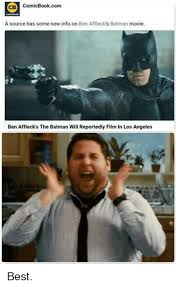 Ben Affleck Meme - cb comicbookcom a source has some new info on ben affleck s batman