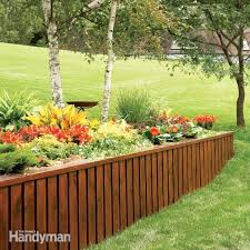 retaining wall ideas wood how to build a treated wood retaining