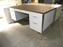 used steelcase desks for sale steelcase 30 x60 metal desk with double pedestals and laminate top
