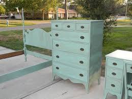Best Aqua Painted Furniture Ideas On Pinterest Distressed - Painted bedroom furniture
