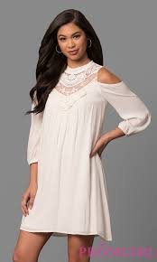 short casual summer dresses print dresses promgirl