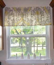 Kitchen Curtain Patterns Inspiration Easy Affordable Diy Kitchen Window Valances Kitchen Window