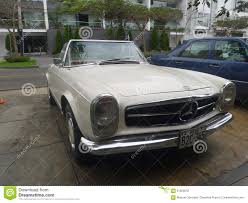 convertible mercedes red convertible mercedes benz 230 sl editorial image image 61929555