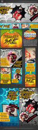 comic halloween sale web banner template banner template