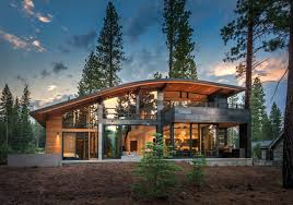 Contemporary Cornice Cornice Cabin Contemporary Exterior Sacramento By Ward