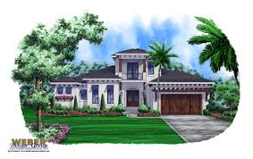 west indies house plan island kitchen outdoor living space