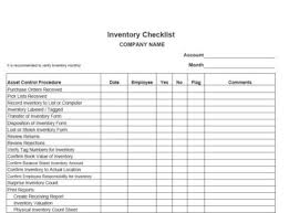 Inventory Sign Out Sheet Template Purchasing And Inventory Controls Vitalics