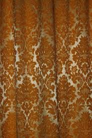 Orange Curtain Material Fabric Curtain Pattern Brown Orange 02 Texture Search