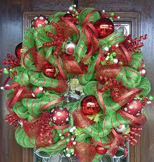 christmas mesh wreaths fishwolfeboro