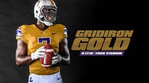design gridiron jersey football to don gridiron gold throwback uniforms lsusports net