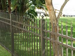 concealed fastener aluminum fence outside fencing pinterest