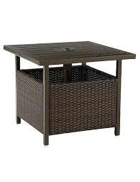Storage Side Table Wonderfull Resin Patio Side Table Decor U2013 Medsonlinecenter Info
