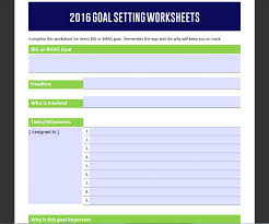 Smart Goals Worksheets Goal Setting For Your Business Milestone Accounting Erp