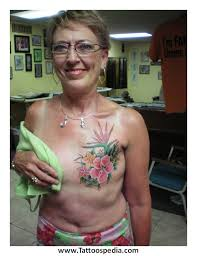 unbelievably beautiful mastectomy tattoos floral wonderland