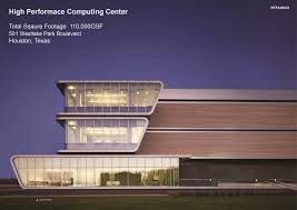 Computing Square Footage by High Performance Computing Center Hok Houston