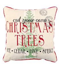maker u0027s holiday christmas pillow cut your own christmas tree joann