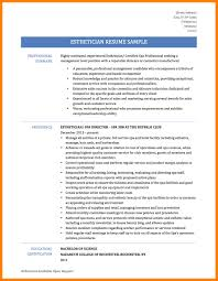 Resume Summary Examples For College Students by Sample Resume For Esthetician Student Free Resume Example And