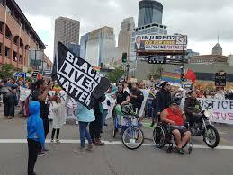 Chelsea Parade Protesters Briefly Halt Pride Parade Minnesota Public Radio News