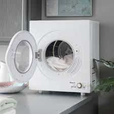 Manual Clothes Dryer Magic Chef 2 6 Cu Ft Compact Electric Dryer White Walmart Com