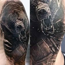 25 grizzly bear tattoos ideas bear art bear
