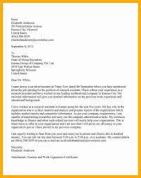 medical assistant cover letter no experience cover letter sample