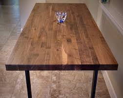 butcher block kitchen table butcher block table etsy
