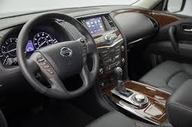 nissan armada nissan puts intelligent rear view mirror in 2018 armada platinum