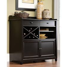 sauder edge water estate black buffet 414844 the home depot sauder edge water estate black buffet