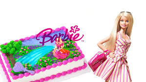 cartoon doll barbie cake deco girls games online hd youtube