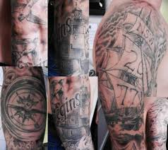 Nautical Tattoos by Nautical Tattoo Sleeve Tattoo U0027s By Justin Pinterest Navy