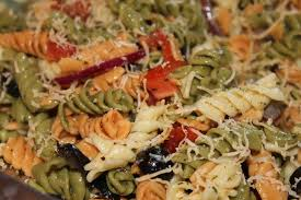 Homemade Pasta Salad by Homemade Greek Dressing