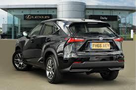 lexus nx se review used 2016 lexus nx 300h 2 5 se 5dr cvt for sale in derbyshire