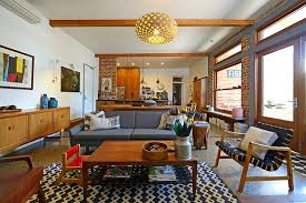 Midcentury Modern Living Room - 7 special tips to give your home a captivating mid century modern