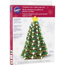 amazon com wilton cookie tree cutter kit christmas cookie