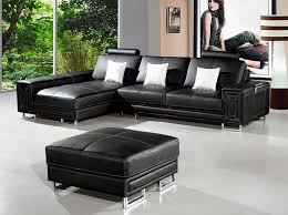 modern leather couch by vig furniture