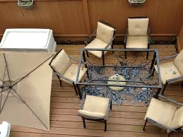 Casual Patio Furniture Sets - furniture charming cool martha stewart patio furniture with
