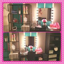 Homemade Makeup Vanity Ideas Makeup Room Ideas Color Me Luscious
