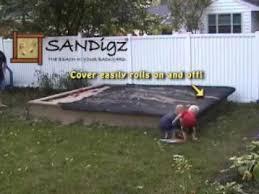 Backyard Sandbox Ideas Greatest Sandbox Cover And Building Plans Ever Created Youtube