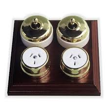 brass light switches from classic electric switch company