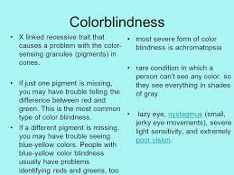 Most Common Colour Blindness Eye Structure And Function Ppt Online Download
