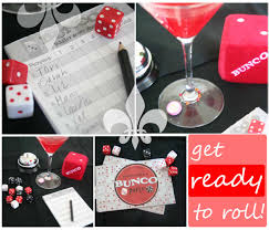bunco party theme thoughtfully simple