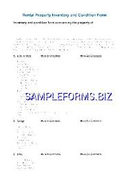 rental inventory template sample rental inventory template 7 free