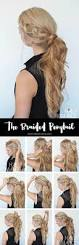 get out of a hair rut braided ponytail hairstyle tutorial hair