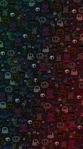 halloween monster background cute monster wallpaperjpg photo