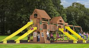 Diy Backyard Swing Set The Foolishness Of Diy Playground Construction B2b Magazine