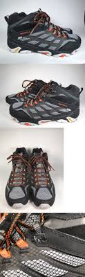 s outdoor boots in size 12 mens 181392 merrell s moab fst mid waterproof hiking boots