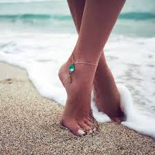 ankle bracelet images Jewels green emerald green anklet anklet jewels gold jewelry jpg
